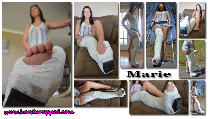 Marie Toe Preview Model Page